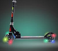 Scooter Roller Tretroller Cityroller Kickboard Kinderroller klappbar LED HL-776