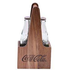TableCraft Coca-Cola / Coke Bottle Salt & Pepper Shaker Set with Wooden Crate