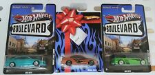 (3 cars) Hot Wheels Gift Series Bouevard Civic Coupe Si Blue Green Bronze EM1