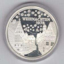 Deutschland - Weihnachtstaler 1978 Silber PP - 15 g 1000 fein - Kapsel