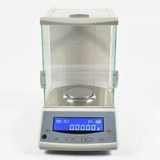Lab Analytical Balance 200 / 0.0001g 0.1mg Digital Precision Scale Top Quality
