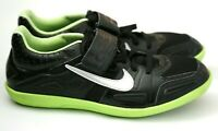 Nike Zoom SD Track and Field Shoes, Sneakers, Men's Size 9.5, Black & Lime Green