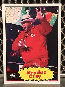 2012 Topps Heritage Brodus Clay WWE Wrestling Card 1985 WWF #8 NWA Tyrus TNA ROH
