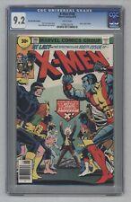 X-Men #100 1976 HTF 30 Cent Price Variant Old Vs New Team Phoenix Origin CGC 9.2