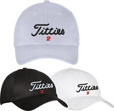 titleist 2 - Titties Golf Hat Cap PGA Bachelor party Gift - Adjustable
