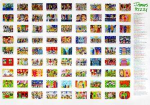 James Rizzi - 81 Rizzi Prints on the wall - Farboffset