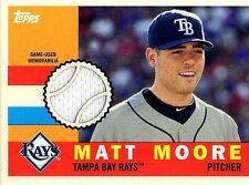 MATT MOORE 2013 TOPPS ARCHIVES GAME USED JERSEY