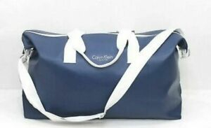 Calvin Klein Blue Duffle, Gym, Travel weekend HOLDALL WORK OVERNIGHT Bag NEW .