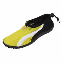 New! StarBay Mens Swim Slippers Socks Aquatic Pool Beach Surf Yellow Size 11 US.