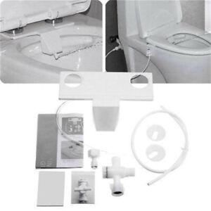 Toilet Seat Attachment Fresh Water Spray Non Electric Mechanical Bidet Bathroom