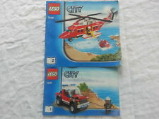 LEGO 7206 Fire Helicopter complet
