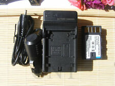 Battery+Charger for JVC Everio GZ-MS100U GZ-MS120 GZ-MS130 GZ-MS130AU Camcorder