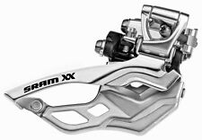 SRAM XX 2x10 speed MTB Front Derailleur 34.9mm High Clamp Top Pull