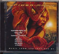 Spider-Man 2: Music From and Inspired By - Soundtrack cd promo