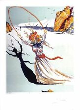"Salvador Dali - Hand Signed HC, Lithograph ""Transcendent Passage (79-2)"""