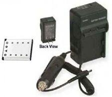 Battery + Charger for Olympus FE-3000 FE-3010 FE-5000 FE-5010 FE-5020 FE-5030