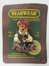 "Boyd's #02000-11 * Bearware Pin ""Caitlin.Fine Cup of Tea"" * Mint * Brand New"