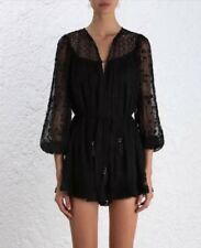 828637ce5fa ZIMMERMANN Eden Web Dot Embroidered Playsuit