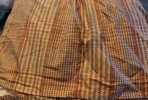 Excellent Ralph Lauren Chaps Summerton  Floral Houndstooth Queen Bed Skirt