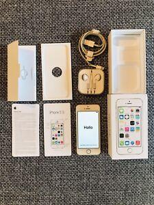 Original Apple iPhone 5s - 16GB - Silber Weiß (Ohne Simlock) A1457 (GSM)