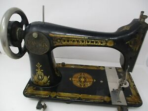 Antique Franklin Treadle Sewing Machine
