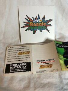 Nintendo Power Magazine Registration Card - Subscription Offer #2153 Insert Only