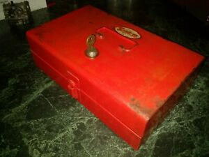 Vintage Snap-on KR-65B tool box Holley carburetor 1956