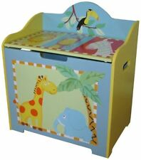 MDF/Chipboard-Matt Effect Animal Print Toy Boxes & Chests