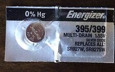 ENERGIZER 395/399 WATCH BATTERIES SR927SW 1 pc