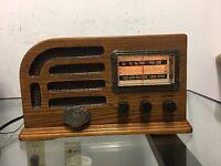 Rare Thomas-Collector-Edition-Tube-Radio Model 1946 Working