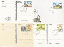 Österreich aus 1992 gestempelt U 83, P 511, 513, 515, 516!