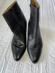 Giorgio Brutini Men's Pointed-Toe Dress Boot BLACK Size 14 W