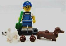 LEGO SEALED Series 19 DOG SITTER WALKER KENNEL DACHSHUND BULLDOG PET 71025