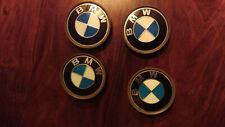 BMW 4 Radnaben Kappen - sehr gut erhalten