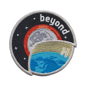ESA Beyond Mission Patch for Astronaut Luca Parmitano - Mission to the ISS