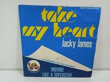 JACKY JAMES MOVING LIKE A SUPERSTAR  DISCO  45 GIRI  VINILE
