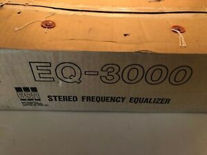 NOS in Box; BSR EQ-3000 Stereo Frequency Equalizer; MINT CONDITION!!
