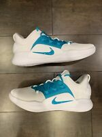 Mens Nike Hyperdunk X Low TB Basketball Shoes Teal Blue White AT3867-106 Size 12