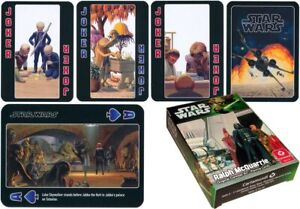 STAR WARS THE ART OF RALPH McQUARRIE PLAYING CARDS BRAND NEW SEALED!