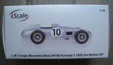 Formel 1 Mercedes-Benz W196  J.-M. Fangio  Britisch GP 1955  iScale 1:18 NEU
