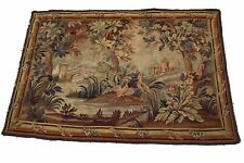 Antique French AUBUSSON HANDMADE TAPESTRY LARGE SIZE