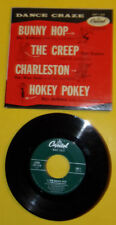 Dance Craze Ray Anthony Bunny Hop, Hokey Pokey + More - 45 RPM EP Record 1950s