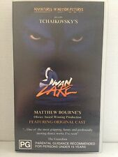 MATTHEW BOURNE presents TCHAIKOVSKY'S SWAN LAKE ~ BALLET ~ RARE VHS VIDEO