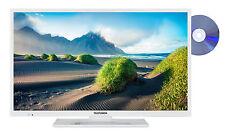 Telefunken XF32D101D-W 32 Zoll Fernseher mit DVD-Player Full HD TV Triple-Tuner
