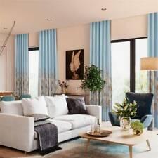 Floral Printed Blackout Curtains for Living Room Bedroom Window DM