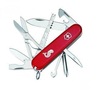 NEW VICTORINOX FISHERMAN SWISS ARMY KNIFE   18 FUNCTIONS