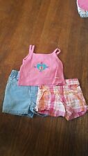 Girls 12 Months Summer Clothing Lot 3 Items