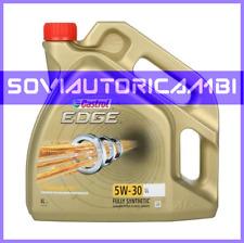 OLIO MOTORE CASTROL 5W-30 LONG LIFE LL EDGE TITANIUM FLACONE 4 LITRI 5W30