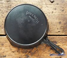 Vintage VOLLRATH WARE Cast Iron SKILLET Frying Pan # 6  - Ironspoon