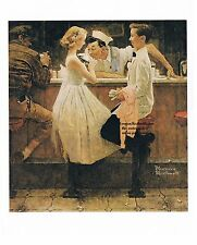 """Norman Rockwell print """"AFTER THE PROM"""" 8x10"""" or 11x15""""  Valentine's Day dance"""